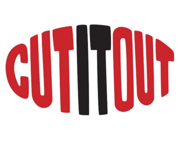 Cut It Out Hair Salon Logo