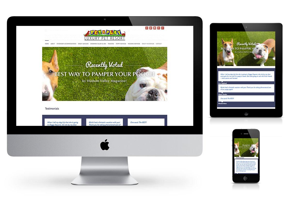 pet n play - fab web philly wordpress website