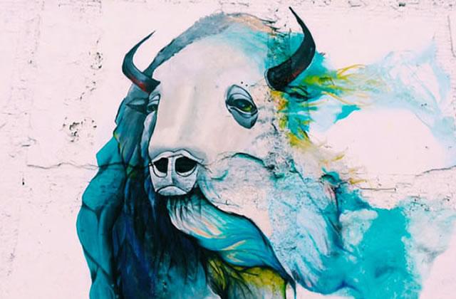 Blue Bison Mural – Northern Liberties