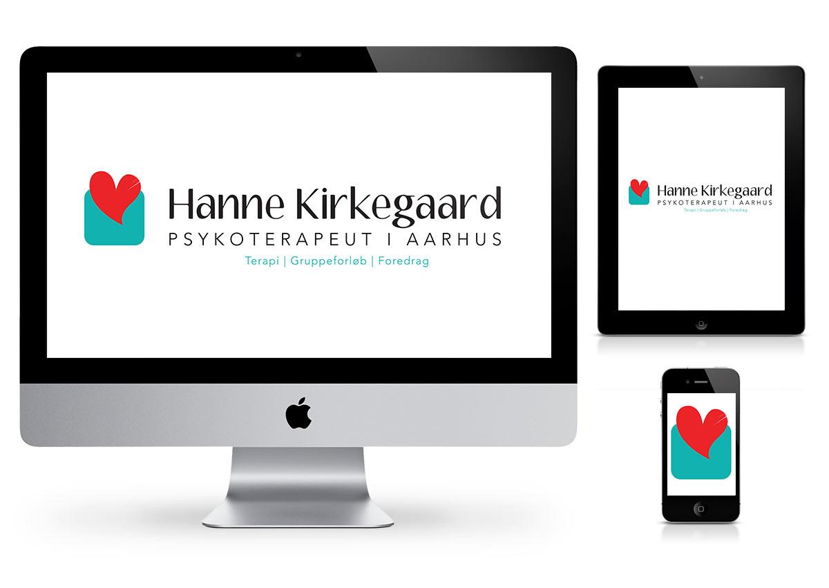 Affordable logo design - Hanne kirkegaard
