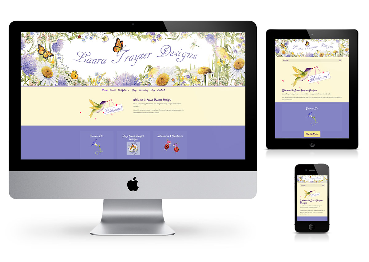 Laura Trayser Designs - Website by Fab Web Philly