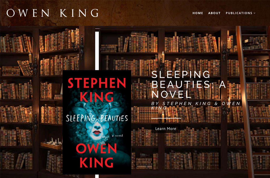 Owen King's Website
